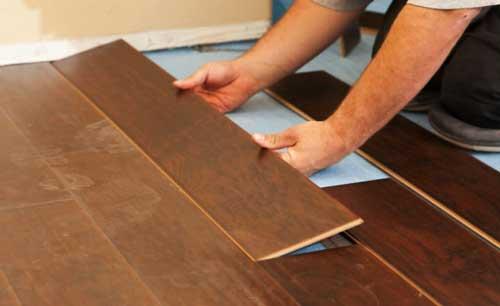 Vinyl lantai kayu